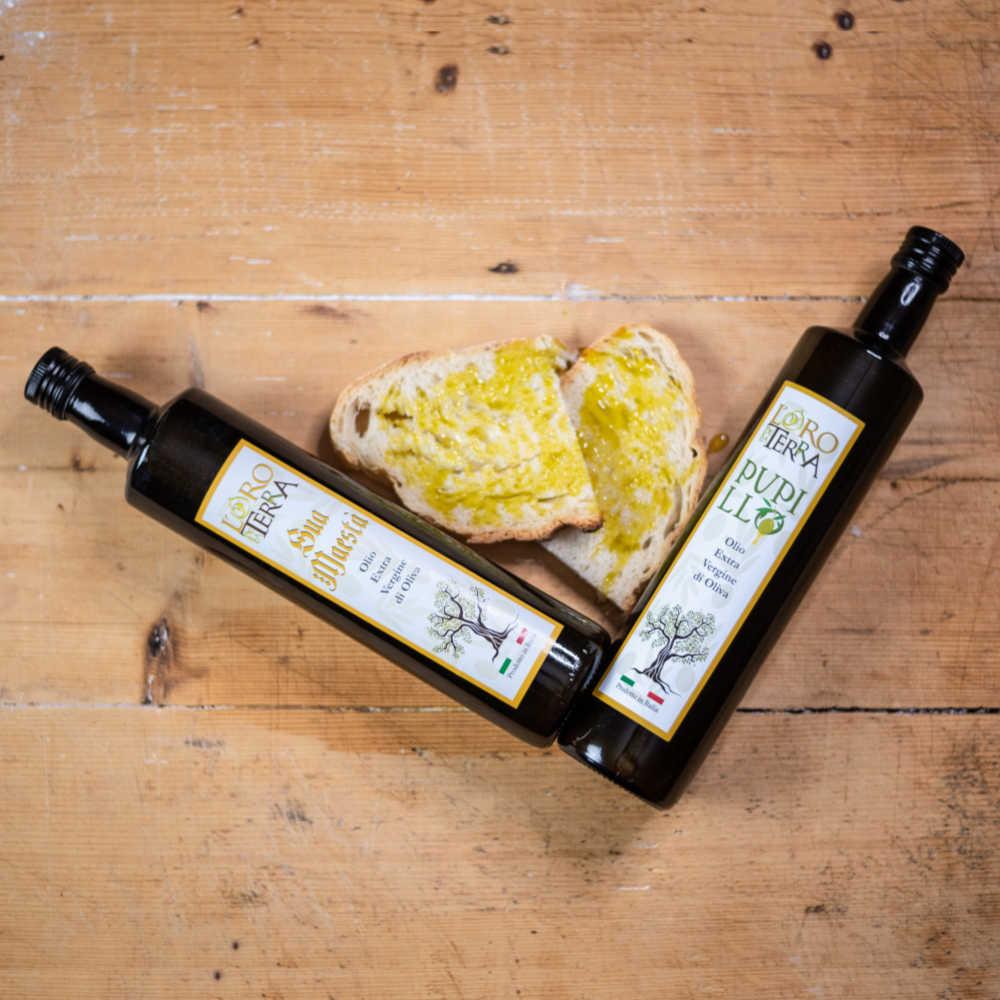 olio extravergine oliva oro della terra