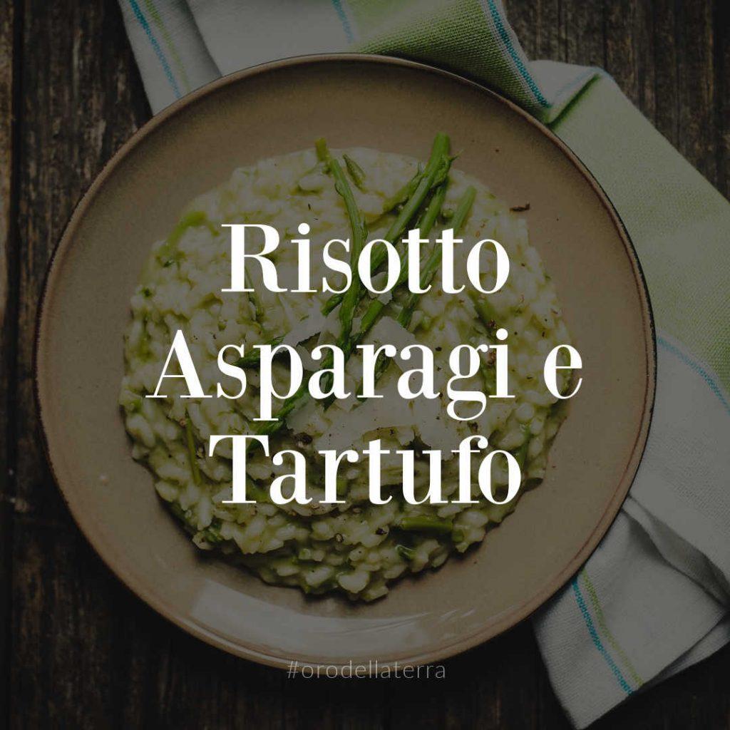 risotto asparagi e tartufo