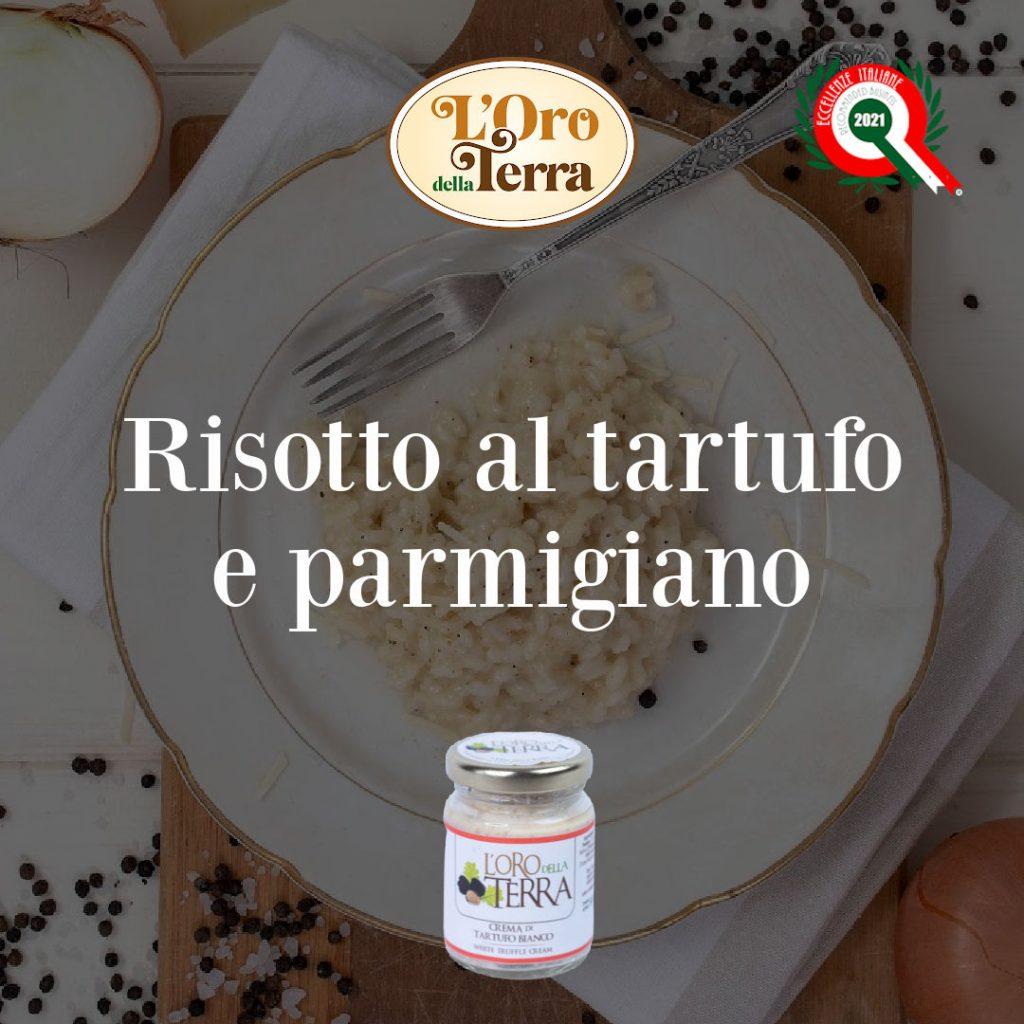 Risotto con crema di tartufo bianco e parmigiano
